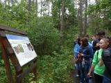 Познавательные экскурсии на экологических тропах заказника